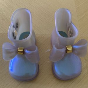 Mini Melissa Sugar Rain Bow Toddler Girl Rainboots